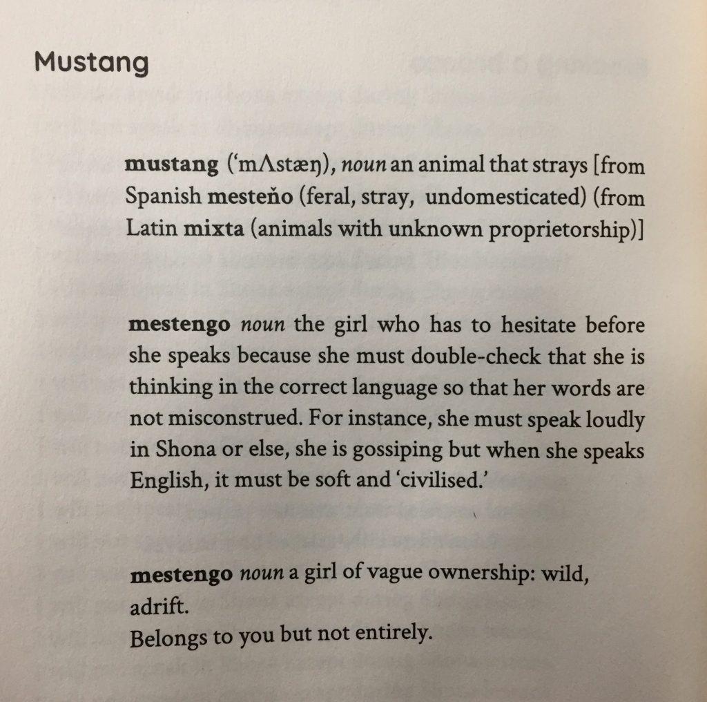 Mustang by Tariro Ndoro